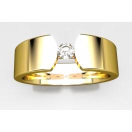 Alianza de Oro con Brillante 2769