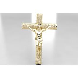 """Colgante """"Cristo"""" de Oro (106)"""