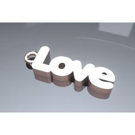 """Colgante """"Love"""" de Oro"""