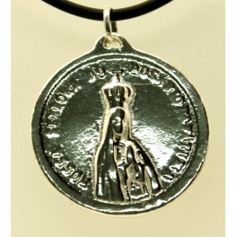 Colgante Virgen de Plata