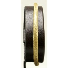 Pulsera extensible de cierre magnético de Plata. Mallado